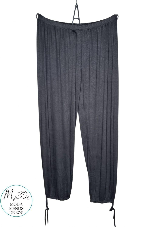 M - 3032 Pantalones Bombachos  y Rectos, ( Negro, Marino )